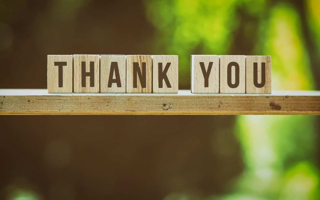 "Four Easy Ways to Say, ""Thank You!"""