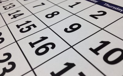 5 Ways to Own Your Calendar for the New Year!
